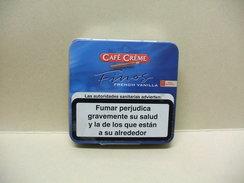 BOITE Métal Vide CAFE CREME FINOS French Vanilla (20 Cigares) - Sigarenkokers