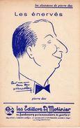VERS 1935 - SUPERBE PARTITION PIERRE DAC - LES ENERVES - EXCELLENT ETAT - H BRADLAY ILLUSTRATEUR - Song Books