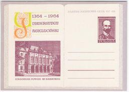 Poland Polska 1964 Jan Baudouin De Courtenay, 600 Years Of Jagiellonian University, Krakow Cracow - Stamped Stationery