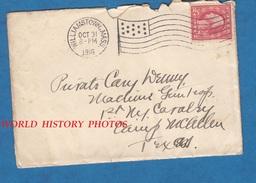Enveloppe Ancienne Avec Timbre & Flamme - Cachet De WILLIAMSTOWN , Massachusetts - 1916 - Stamp US Post 2 Cents Postage - Oblitérés