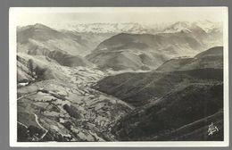 CPA 1939 Bagnères De Bigorre, Route Du Col D'Aspin, Vue Sur La Vallée D'Aure,édit Alix - Bagneres De Bigorre