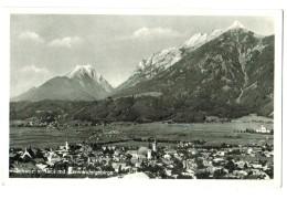 18810   Cpa   SCHWAZ In Tirol Mit Karvendelgebirge  , Carte Photo 1954 ,   ACHAT DIRECT !! - Schwaz