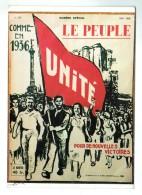 18836  Cpm   LE PEUPLE , Organe Officiel De La C.G.T.  CGT  , évènement  De Mai 1956 Repésenté ! Voyagé En  1989 ! - Syndicats