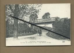 CPA Souple - Ancourt - (Seine - Inférieure ) - Le Pont De Chemin De Fer - The Railway Bridge - Autres Communes