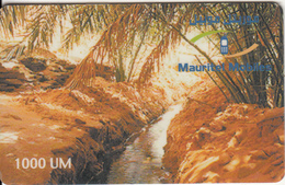 MAURITANIA - Landscape, Mauritel Prepaid Card 1000 UM(glossy Surface), Exp.date 31/12/04, Used - Mauritanie