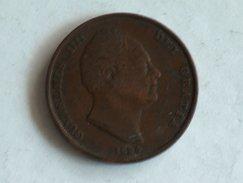 UK 1 PENNY 1834 ONE GRANDE BRETAGNE - 1816-1901 : Frappes XIX° S.
