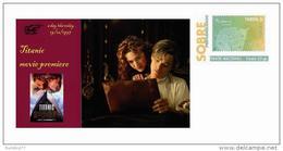 Spain 2013 - Ephemeris - 19 December 1997 (Preview Of The Titanic Film) Special Prepaid Cover - Cinema
