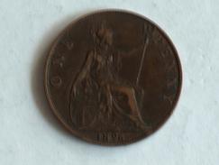 UK 1 PENNY 1896 ONE GRANDE BRETAGNE - 1816-1901 : Frappes XIX° S.
