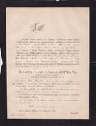 GENAPPE SAINT-JOSSE Lucien JOTTRAND 1804-1877 Avocat Ancien Membre Du Congrès National 1831 Révolution Belge 1830 - Obituary Notices