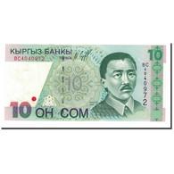 KYRGYZSTAN, 10 Som, 1997, KM:14, NEUF - Kirghizistan