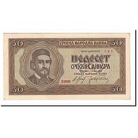 Serbie, 50 Dinara, 1942, 1942-05-01, KM:29, SPL - Serbie