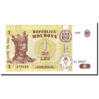 Moldova, 1 Leu, 2002, KM:8e, NEUF - Moldavie