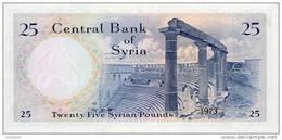 SY  P. 96c 25 P 1973 UNC - Syrie
