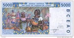 WEST AFRICAN STATES P. 713Kk 5000 F 2001 UNC - Sénégal
