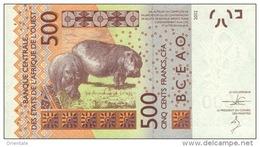 WEST AFRICAN STATES P. 719Ka 500 F 2012 UNC - Sénégal