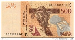 WEST AFRICAN STATES P. 719Kb 500 F 2013 UNC - Senegal