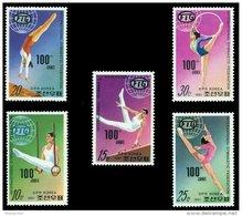 North Korea Stamps 1981 100 Years Gymnastic Federation Sport - Gymnastics