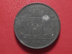 Belgique - 1 Franc 1942 3799 - 1934-1945: Leopold III