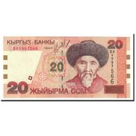 KYRGYZSTAN, 20 Som, 2002, KM:19, NEUF - Kirghizistan