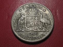 Australie - Florin 1944 S 3852 - Monnaie Pré-décimale (1910-1965)