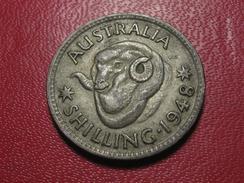 Australie - Shilling 1948 3885 - Monnaie Pré-décimale (1910-1965)