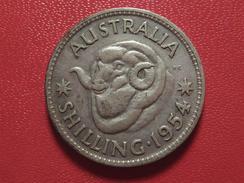 Australie - Shilling 1954 3848 - Monnaie Pré-décimale (1910-1965)