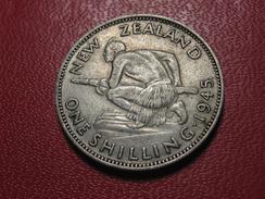 Nouvelle Zélande - Shilling 1945 3894 - Nouvelle-Zélande