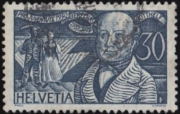 SWITZERLAND - Scott #B56 Jeremias Gorrhelf / Used Stamp - Switzerland