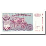 Croatie, 5000 Dinara, 1993, KM:R20a, NEUF - Croatie