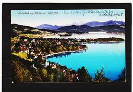 PRW686  POSTKARTE 1924 PÖRTSCHACHT Am WÜRTHERSEE  GEBRAUCHT  SIEHE ABBILDUNG - Pörtschach