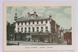 Place D'Armes, Hotel Chateau Normandie, Quebec, Canada - Quebec