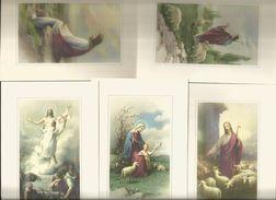 5 CART. SOGGETTO RELIGIOSO    (133) - 5 - 99 Cartoline