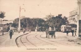 T520 - Castellammare Di Stabia - Napoli - Villa Comunale-tram-regno - Reproductions