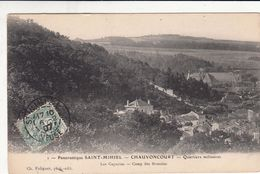 Cp , 55 , SAINT-MIHIEL - CHAUVONCOURT , Panoramique , Quartiers Militaires - Saint Mihiel