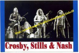 590> Bella Fotografia Riproduzione Cm. 12 X 18 Di CROSBY, STILLS & NASH - Foto