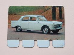 PEUGEOT 404 - Coll. N° 49 NL/FR ( Plaquette C O O P - Voir Photo - IFA Metal Paris ) ! - Tin Signs (after1960)