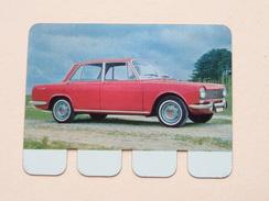 SIMCA 1500 - Coll. N° 50 NL/FR ( Plaquette C O O P - Voir Photo - IFA Metal Paris ) ! - Plaques Publicitaires