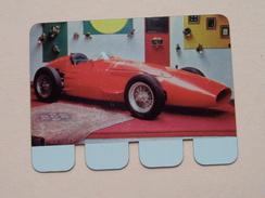 MASERATI DE FANGIO 1956 - Coll. N° 55 NL/FR ( Plaquette C O O P - Voir Photo - IFA Metal Paris ) ! - Plaques Publicitaires