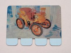 DELAHAYE 1898 - Coll. N° 59 NL/FR ( Plaquette C O O P - Voir Photo - IFA Metal Paris ) ! - Plaques Publicitaires