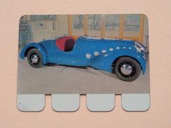 PEUGEOT 402 - 1936 - Coll. N° 65 NL/FR ( Plaquette C O O P - Voir Photo - IFA Metal Paris ) ! - Plaques Publicitaires