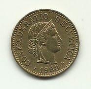 1988 - Svizzera 5 Rappen, - Suiza