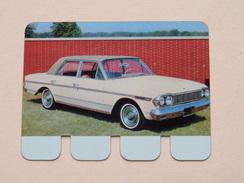 RAMBLER AMBASSADOR 1964 - Coll. N° 69 NL/FR ( Plaquette C O O P - Voir Photo - IFA Metal Paris ) ! - Plaques Publicitaires