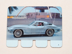 CHEVROLET CORVETTE STING RAY - Coll. N° 70 NL/FR ( Plaquette C O O P - Voir Photo - IFA Metal Paris ) ! - Tin Signs (after1960)