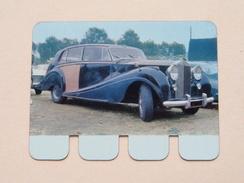 ROLLS-ROYCE 1962 - Coll. N° 72 NL/FR ( Plaquette C O O P - Voir Photo - IFA Metal Paris ) ! - Plaques Publicitaires