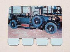 MERCEDES 1913 - Coll. N° 74 NL/FR ( Plaquette C O O P - Voir Photo - IFA Metal Paris ) ! - Advertising (Porcelain) Signs