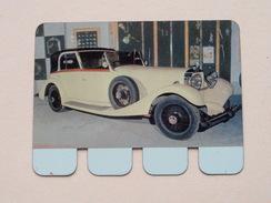 HISPANO-SUIZA 1934 - Coll. N° 78 NL/FR ( Plaquette C O O P - Voir Photo - IFA Metal Paris ) ! - Plaques Publicitaires