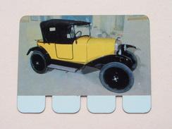 CITROEN 1922 - Coll. N° 79 NL/FR ( Plaquette C O O P - Voir Photo - IFA Metal Paris ) ! - Plaques Publicitaires
