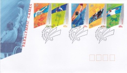 Australia FDC 2000 Sydney Paralympic (DD8-22) - Sommer 2000: Sydney - Paralympics