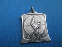 Médaille De Sport/TIR/ U S T F/Coq  Et Cible / Vers 1930 - 1950                     SPO228 - Sports