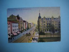 BROMBERG  ( BYDGOSZCZ )  -  Pologne  - MARCOPHILIE -  Cachet Allemand Bromberg  -  1914  -  Blick Auf Die Danzigerstr. - Polen